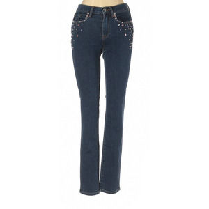 Juicy Couture MidRise Embellished Skinny Jeans 24